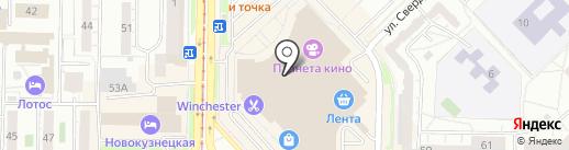 Мегакс на карте Новокузнецка