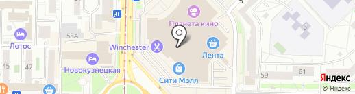 Sun Line на карте Новокузнецка