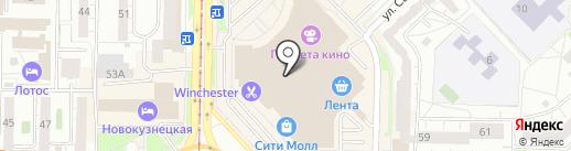 Rebel shop на карте Новокузнецка
