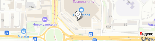 Музей восковых фигур на карте Новокузнецка