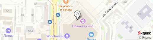 Anna Verdi на карте Новокузнецка