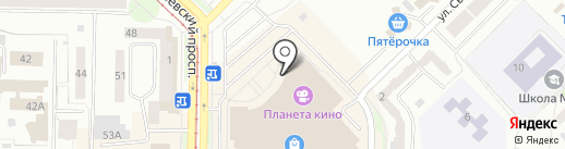 София на карте Новокузнецка