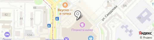 Аурум на карте Новокузнецка