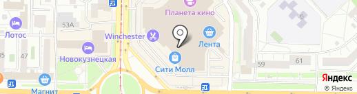 VAU на карте Новокузнецка