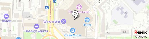 Baon на карте Новокузнецка