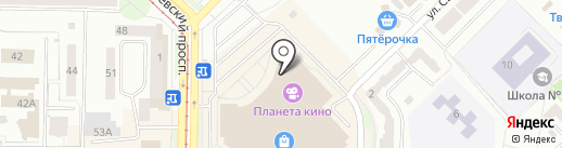 ТЕХНИКУС на карте Новокузнецка