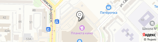 Coffee Way на карте Новокузнецка
