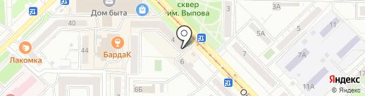 Пивоварня Лобанова на карте Новокузнецка