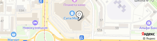 Ребятам о зверятах на карте Новокузнецка