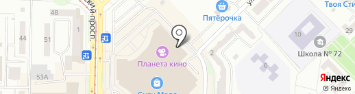 Мыльная фантазия на карте Новокузнецка