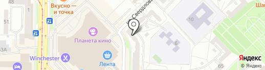 А-Строй Монтаж на карте Новокузнецка
