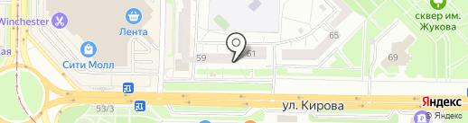 Beerlandia на карте Новокузнецка