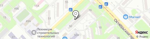Лакомка на карте Новокузнецка