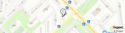Торгово-сервисный центр на карте Новокузнецка