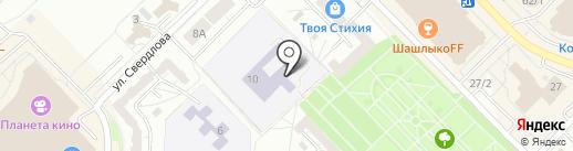 Саппоро на карте Новокузнецка