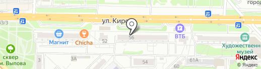 БКС Премьер на карте Новокузнецка