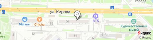 Банкомат, БКС Премьер на карте Новокузнецка