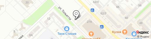 Городской коммунальный сервис, МП на карте Новокузнецка