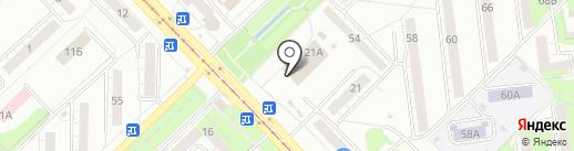 Stock на карте Новокузнецка