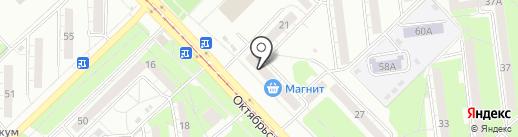 Новокузнецкая кондитерская фабрика на карте Новокузнецка