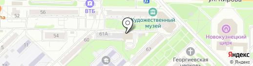 ДМТехнологии на карте Новокузнецка