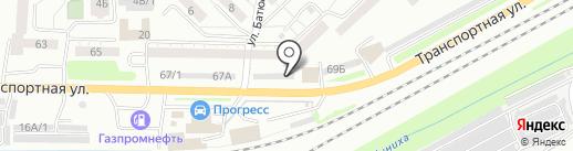 БИРГИК на карте Новокузнецка
