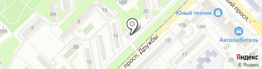 Сила воды на карте Новокузнецка