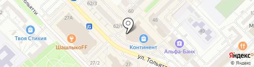 Подарок.ру на карте Новокузнецка