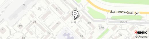 7я семья на карте Новокузнецка
