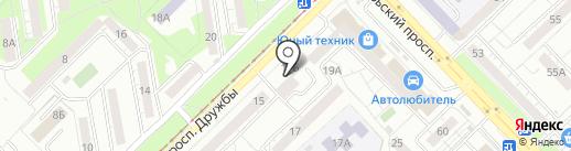 СИБИРЬУГОЛЬТРЕЙД на карте Новокузнецка