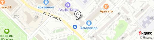 Люкс на карте Новокузнецка