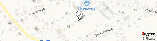 ЮЖОН на карте Сосновки