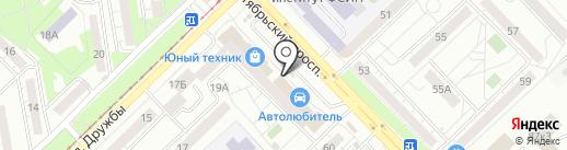 Кафе-закусочная на карте Новокузнецка