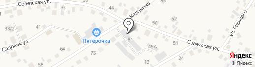 База строительных материалов на карте Сосновки