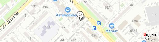 Рено-маркет на карте Новокузнецка