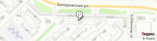 Дружина на карте Новокузнецка