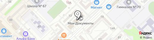 Центр градостроительства и землеустройства г. Новокузнецка на карте Новокузнецка