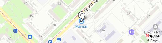 ДеткиНК на карте Новокузнецка
