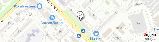 Автохаус на карте Новокузнецка