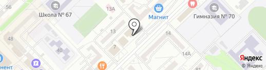 Печати5 на карте Новокузнецка
