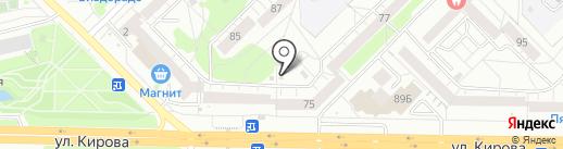 Магазин колбасных изделий и мясных деликатесов на карте Новокузнецка