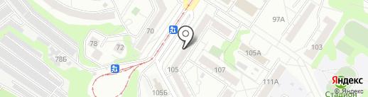 Магазин трикотажных изделий на карте Новокузнецка