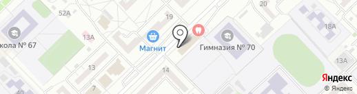 ФИШКА на карте Новокузнецка