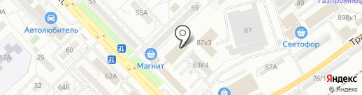 ИНСТРУМЕНТСТРОЙ на карте Новокузнецка