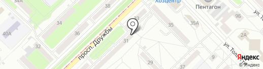Оракул на карте Новокузнецка