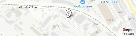 Сигнал на карте Новокузнецка
