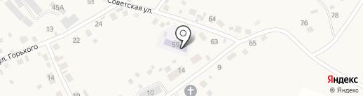 Сосновский детский сад комбинированного вида на карте Сосновки