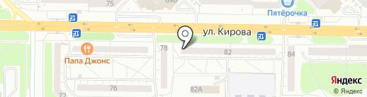 BeerZone на карте Новокузнецка