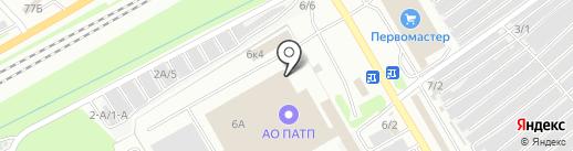 Арт Фокс на карте Новокузнецка