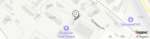 Альянс-Мебель на карте Новокузнецка
